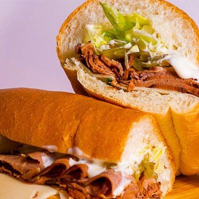 Halal Cut Sandwich