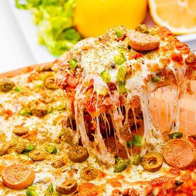 Delicious Halal Pizza