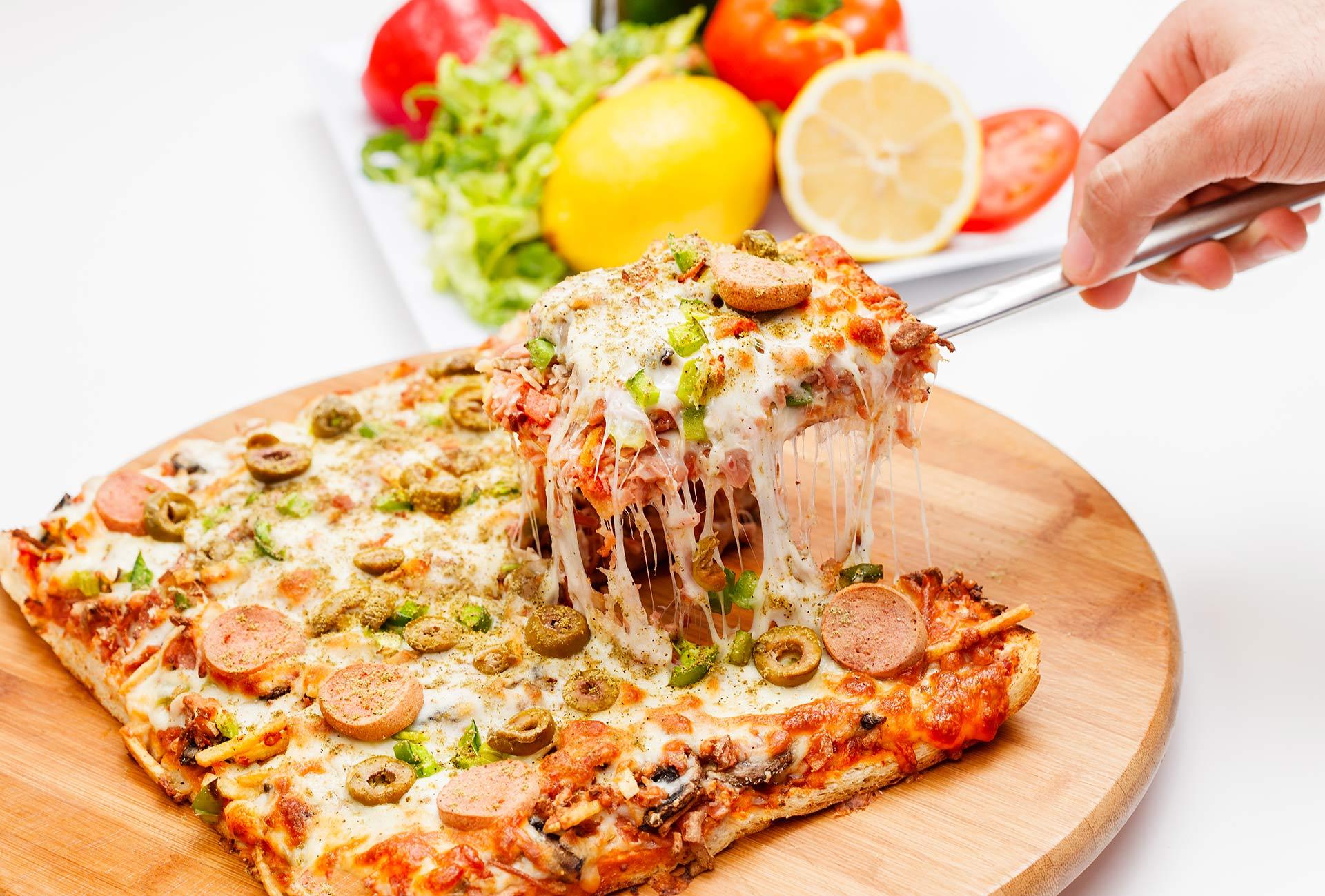 Haida Sandwich Pizza