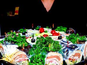 Haida Sandwich Platter