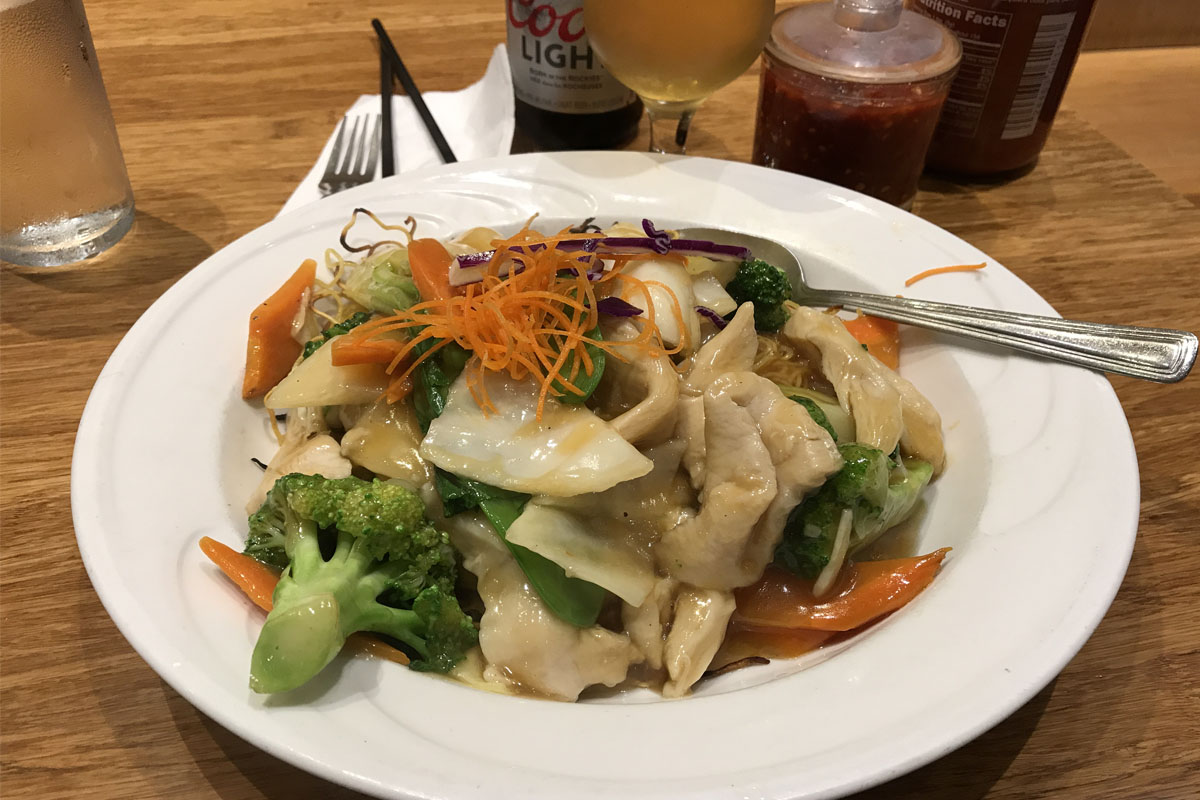 Fine Asian Bowl Food